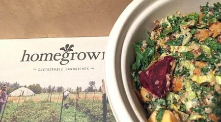 Sustainable Salad & Sandwich Chain 'Homegrown' Opens In The FiDi