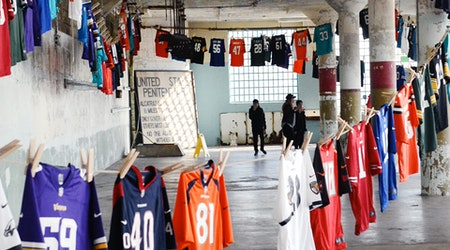 Unnecessary Roughness: Alcatraz Exhibit Challenges Prison System—With Football Jerseys