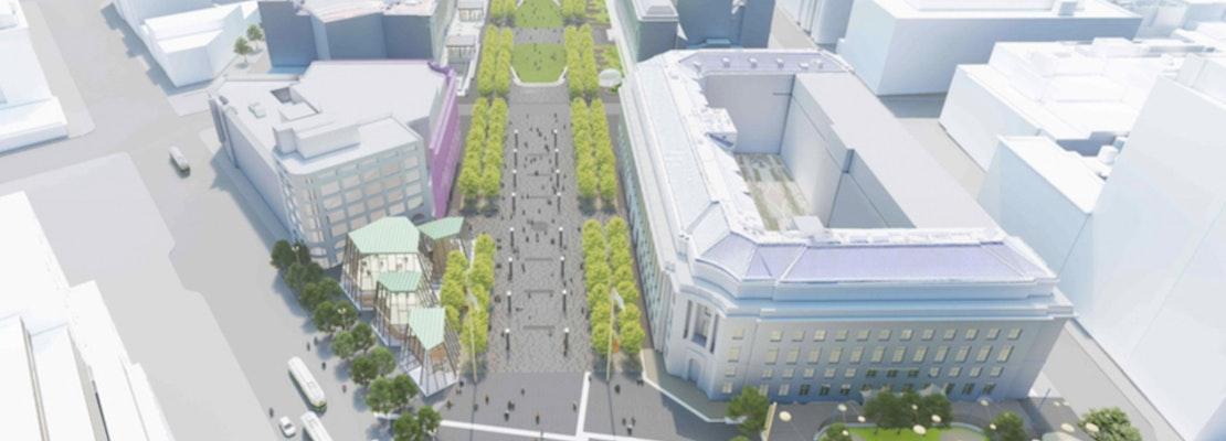 Civic Center improvement plan calls for permanent block closure, UN Plaza fountain makeover, more