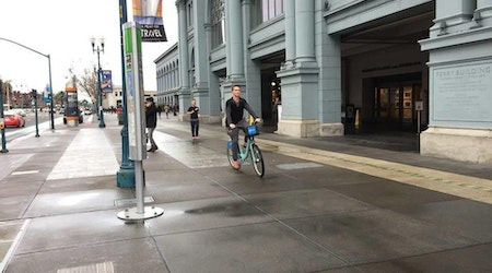 Protected Bike Lanes Still In The Works As Embarcadero Traffic Hits 'Brutal' Levels