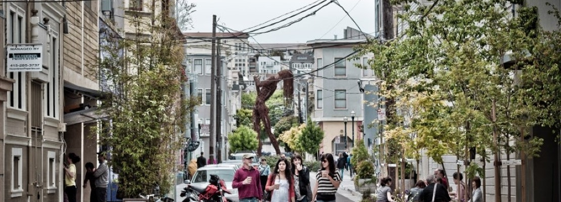 Hayes Valley 'Living Alley' Projects Score Nearly $300K In Fresh Funding