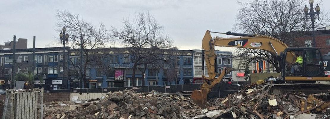 Demolition Of Church & Market's Home Restaurant Nears Completion