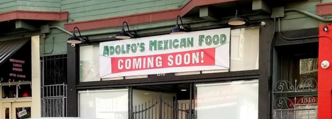 North Beach Eats: Adolfo's Mexican Food now open, Acquario di Pesci to take over Sylvia's Bakery