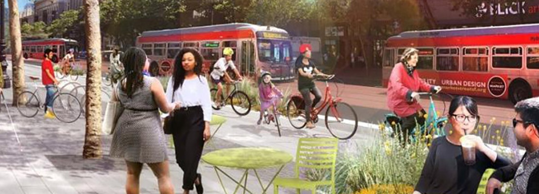Plan to close 2 miles of Market Street to private car traffic moves forward