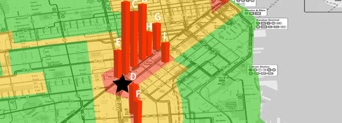 When It Comes To Fare Enforcement, Muni's Inspectors Rarely Stray Far From HQ