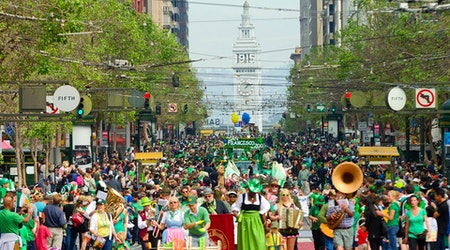 SF weekend: St. Patrick's Day fun, SF's largest Holi color fight, Hot Air Music Festival
