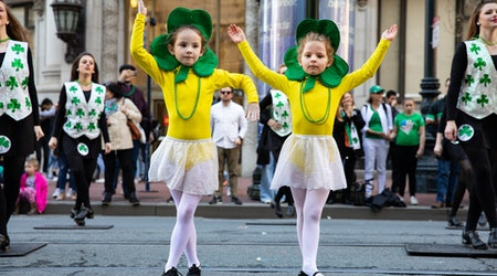 Scenes from San Francisco's 2019 St. Patrick's Day Parade