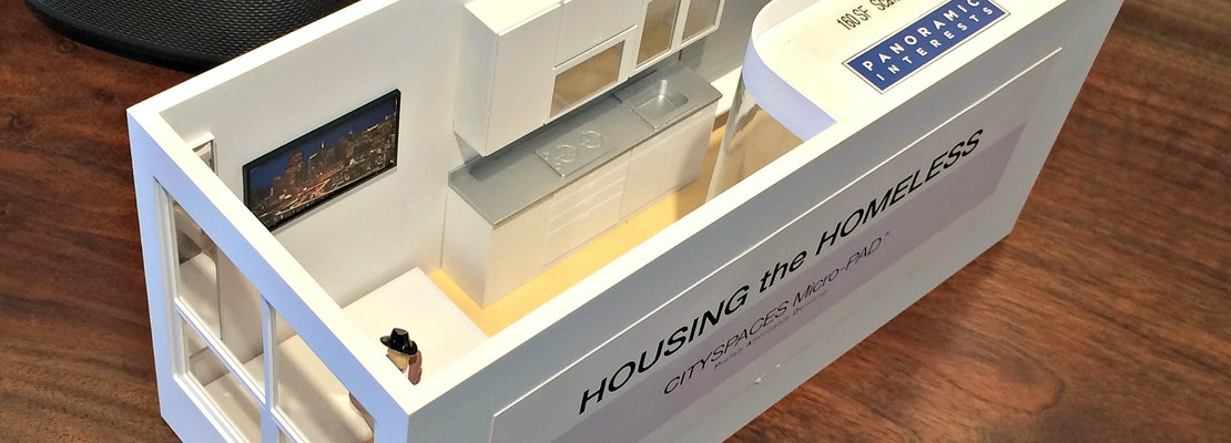 Unlike East Bay Neighbors, SF Isn't Sold On Pre-Fab Micro-Housing For Homeless