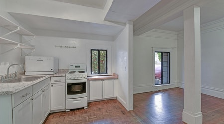 The most inexpensive apartments for rent in Lower Pac Heights