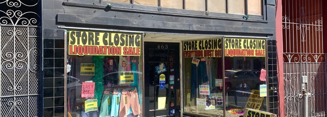 Castro men's clothing store Outfit has closed