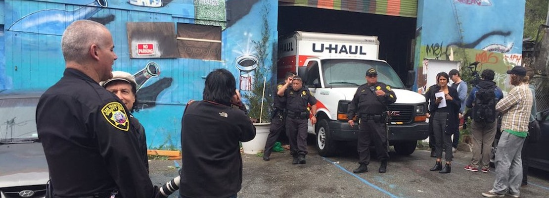 Artist Collective Forcibly Evicted From Bernal Heights Warehouse
