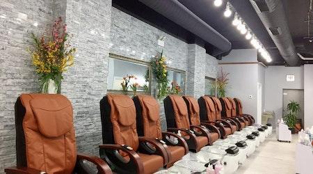 New River North nail salon Top Coat Nail Spa opens its doors