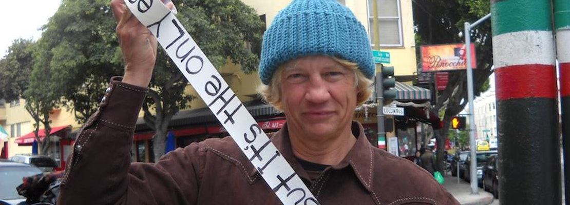 RIP: 'Elvis Christ,' North Beach Street Artist