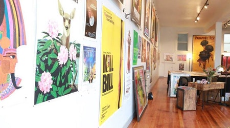 'Real Old Paper Gallery' Brings Vintage Poster Art To North Beach
