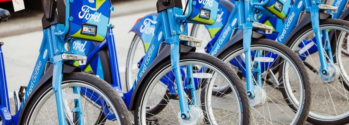 'Ford GoBike' Expansion To Add 3500 Rental Bikes To SF, East Bay This Year