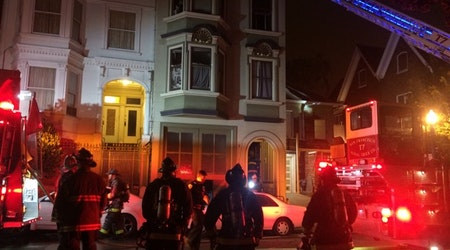 Early-Morning Mission Fire Displaces 3, No Injuries