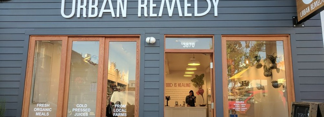 Urban Remedy Expansion Brings Fresh Juices, Healthy Eats To Noe Valley