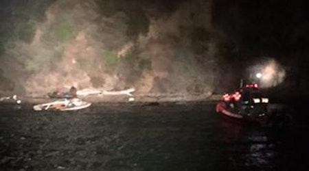 SFFD Saves Man In Late-Night Treasure Island Cliff Rescue