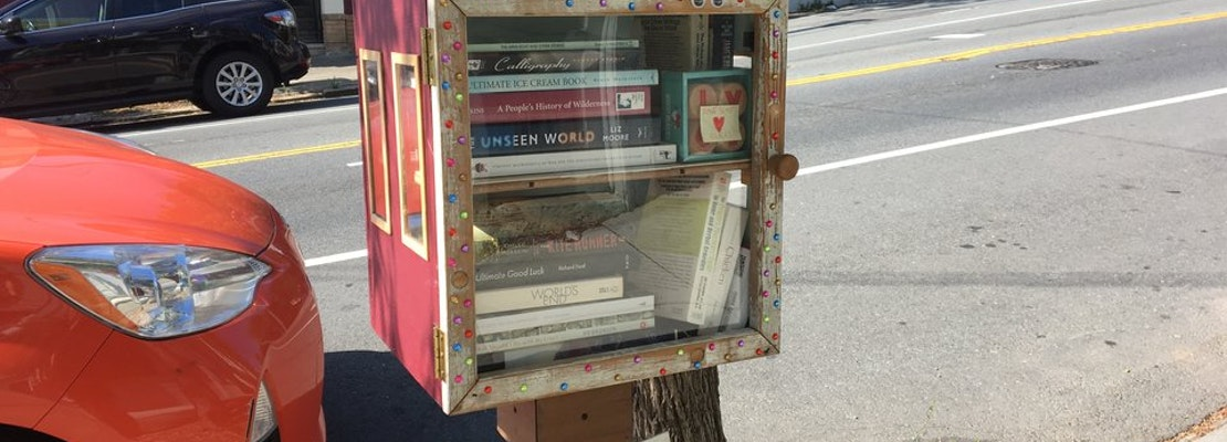 'Little Free Library' Appears On 17th St. In Corona Heights