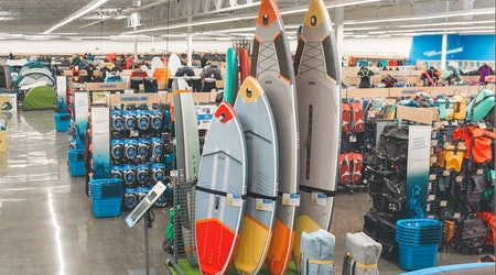 Find sporting goods and more at Emeryville's new Decathlon