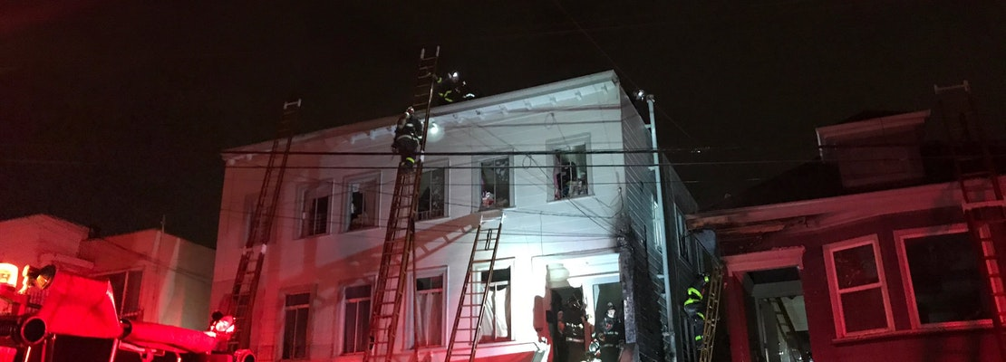 21 people displaced after 2-alarm Bayview fire