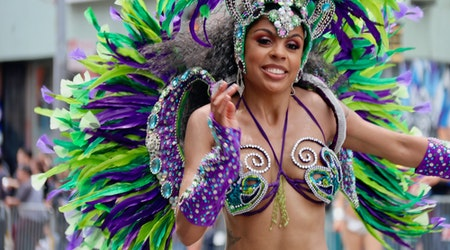 A photo tour of the colorful costumes and marchers at 2019's San Francisco Carnaval