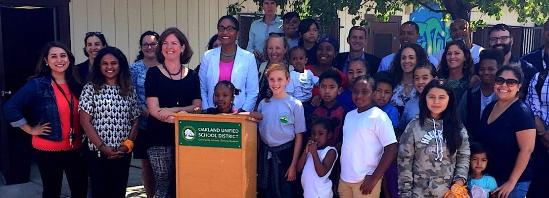 Oakland's 8th Dual-Language School Opens In Coliseum District