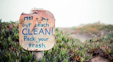 Stanley Roberts Spots People Behaving Badly At Ocean Beach