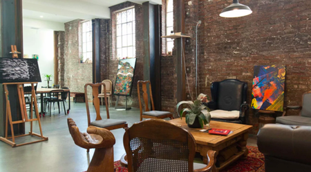 In The Mission, Creatives Spin, Sort & Hang At 'The Laundry'