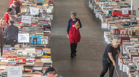 Turn Up The Volumes: 'Big Book Sale' Returns To Fort Mason