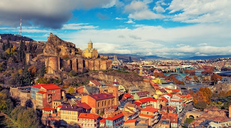 How to travel from Orlando to Tbilisi on the cheap