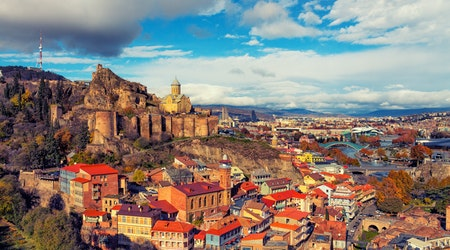 How to travel from Indianapolis to Tbilisi on the cheap