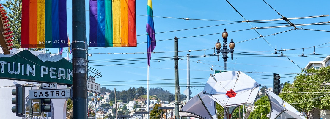 Rainbow bridge: Escape from New Orleans to San Francisco for the Pride Parade