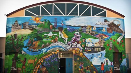 'Precita Eyes Muralists' Celebrates 40 Years Of Community Art