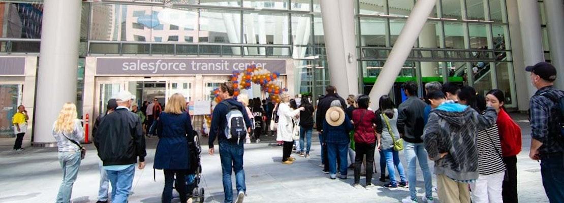 Salesforce Transit Center to reopen next week — without any transit