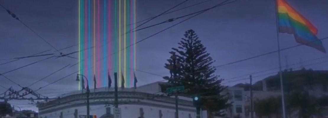 Castro Light Installation Honoring Harvey Milk Set For Next Month