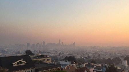 North Bay Wildfires Bring Smoke, Ash To San Francisco & Oakland