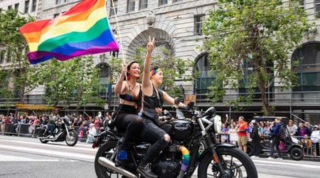 Scenes from the 2019 Pride Parade and Celebration