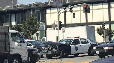 SFPD-Involved Crash Shuts Down Japantown Streets