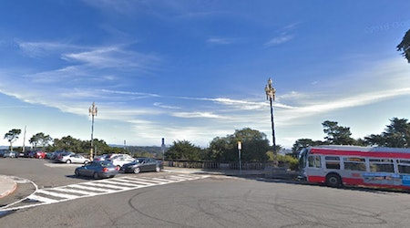 Legion of Honor auto burglary turns hit-and-run, with suspects still at large