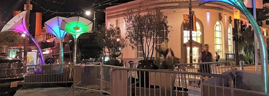 Castro's New LED Art Installation Blossoms Friday