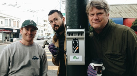 Yes, We Ashcan: Cigarette Disposal Campaigns Expand To Richmond, North Beach