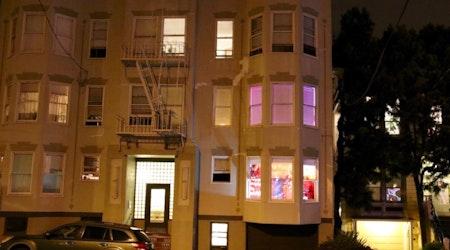 Castro Resident's Halloween Window: 'Gore Done Beautifully'