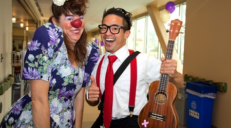 Therapy Clown Posse: The Circus Comes To Laguna Honda
