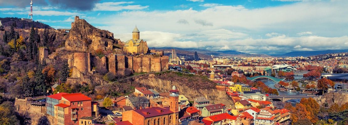 How to travel from Virginia Beach to Tbilisi on the cheap