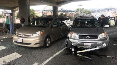 7 Injured In Portola District Collision