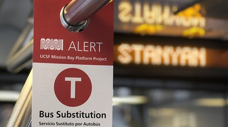 Another 10-day Muni T-Third line bus substitution kicks off this weekend