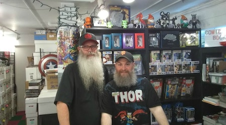 Comic Book Beardies, formerly Whatever Comics, going strong in new location & online
