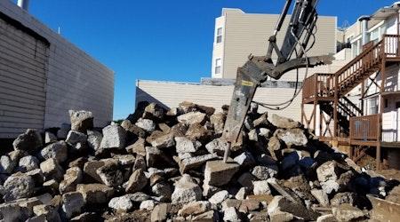 Former 'Parkside Cleaners' Building Demolished For Condos