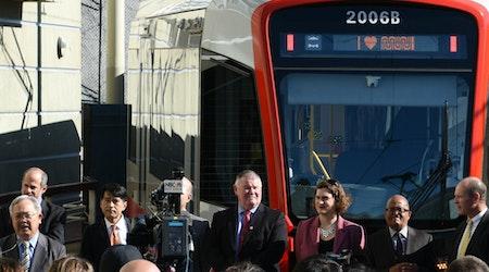 Muni Rolls Out 1st New Light Rail Vehicle Since 1990s